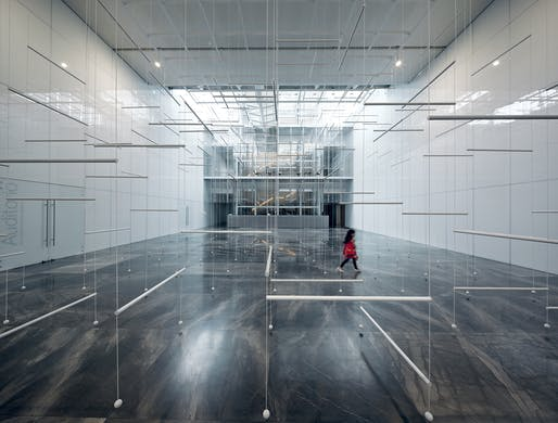 3i019 Site-Specific Installation at Museo Amparo by MAGDALENA FERNANDEZ ARRIAGA. Image courtesy CODAawards