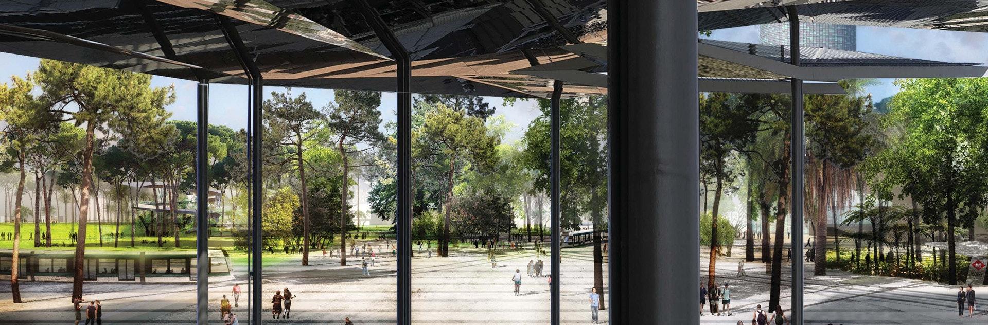Status Under Construction Location Barcelona ES Firm Role Architect Additional Credits Agence Ter Landscape architect & URBAN CANOPY BARCELONA (SP) | YTAU Yannick Troubat Architecture ...