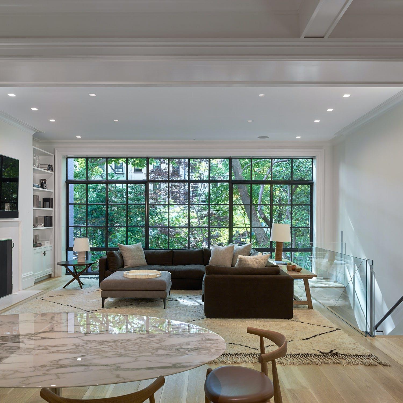 Platt Dana Architects Renovation Addition Project In: Brooklyn Heights Brownstone