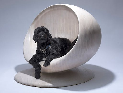 "Image: ""Cloud"" dog kennel by Zaha Hadid Design. Photo © Zaha Hadid Design."