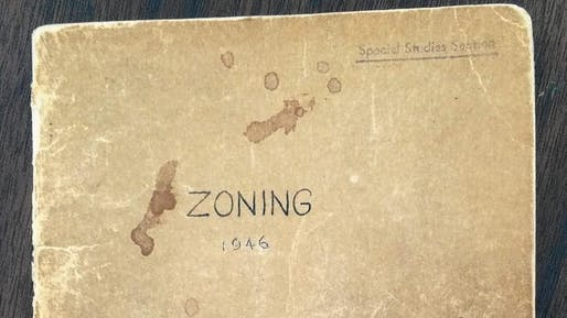 A copy of the 1946 Los Angeles zoning code. Credit: Tim Logan / Los Angeles Times