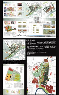 Urban design projects