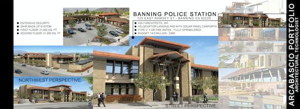 BANNING POLICE STATION - BANNING, CA - 2006