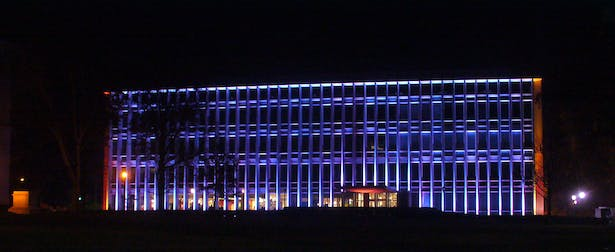 Picture of the finished lighting installment