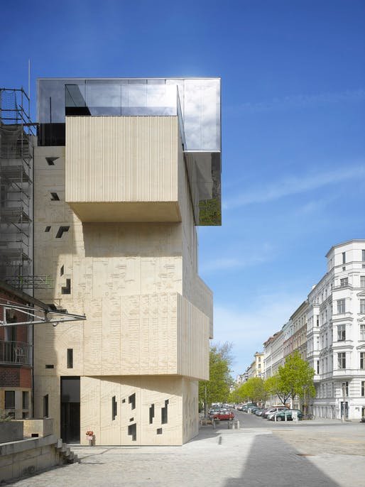 Museum for Architectural Drawing, 2013, Berlin. Photograph by Roland Halbe.
