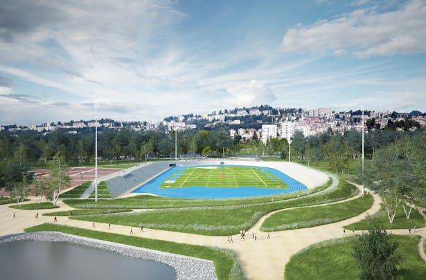 AZC - Stade Coubetin