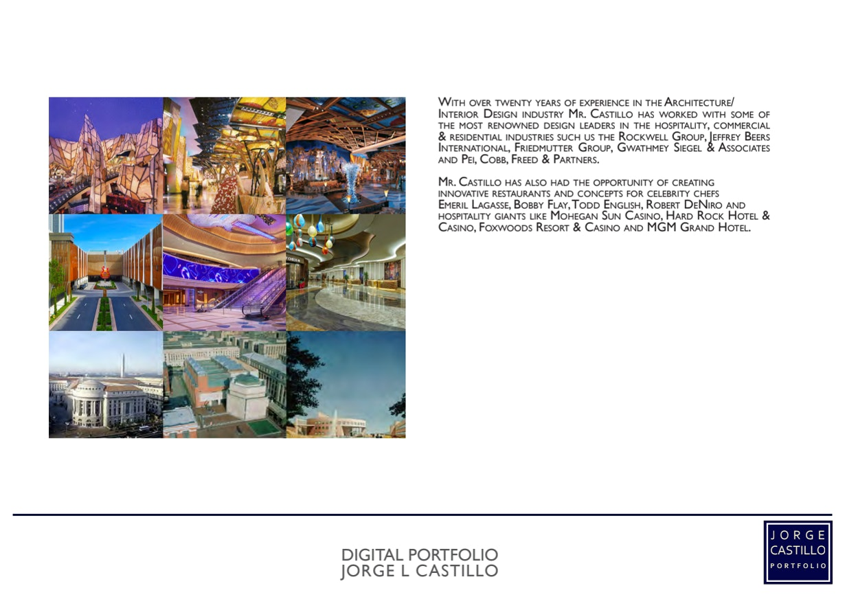 Jorge Castillo Archinect