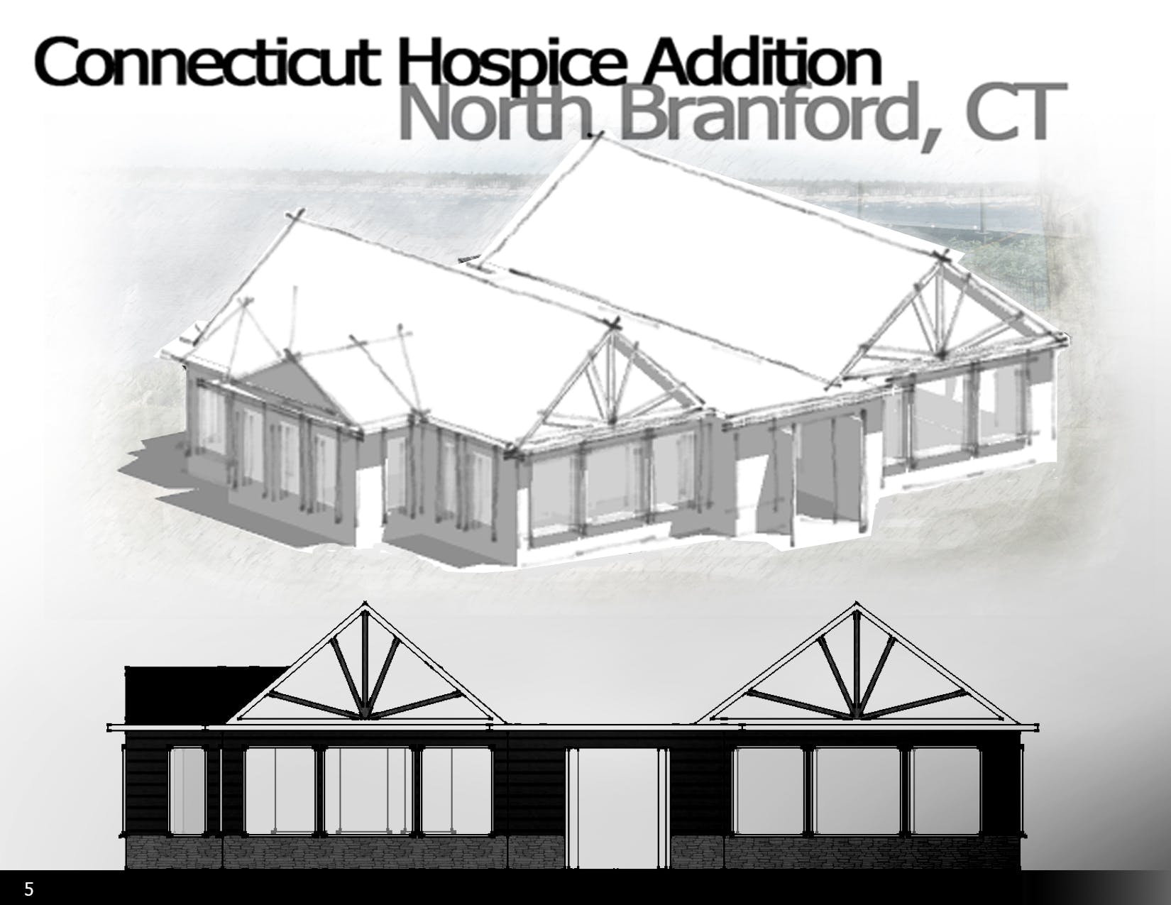 connecticut hospice addition michael kemner archinect