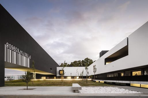 2013-14 A' Design Award winner: School of Technology Higher Education Institution by Nuno Montenegro. Photo: Fernando Guerra FG+SG Architectural Photography.