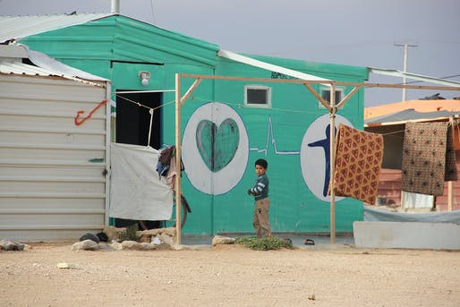 "​""Toward Healthy Housing for the Displaced"". Photo courtesy of RIBA."
