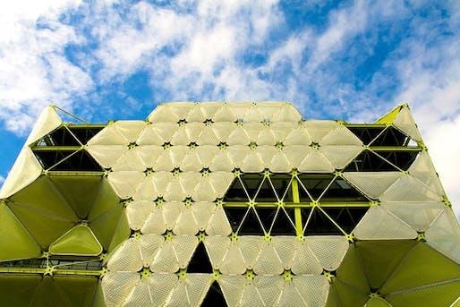 Media-TIC building in Barcelona (Photo: Susanna Altarriba / age fotostock)