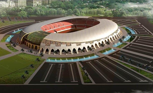 KARBALA OLYMOIC STADIUM   Hussein Alsuhail   Archinect