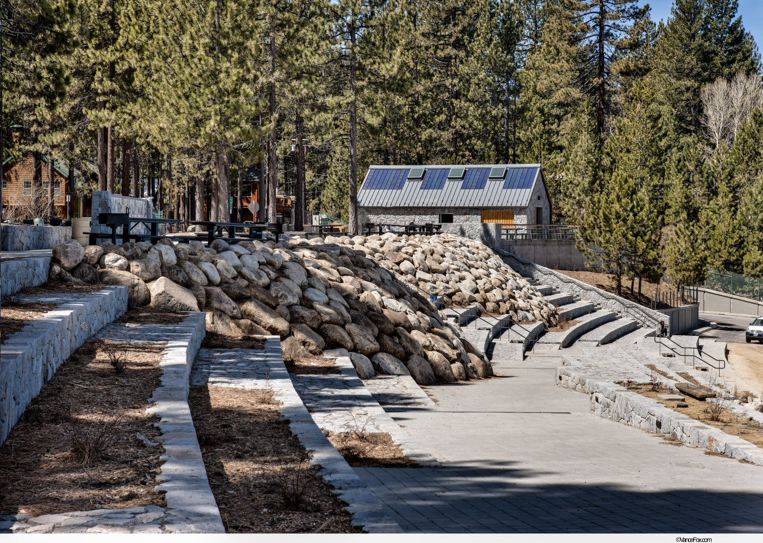 El dorado beach lakeview commons ware associates inc for Lake tahoe architecture firms