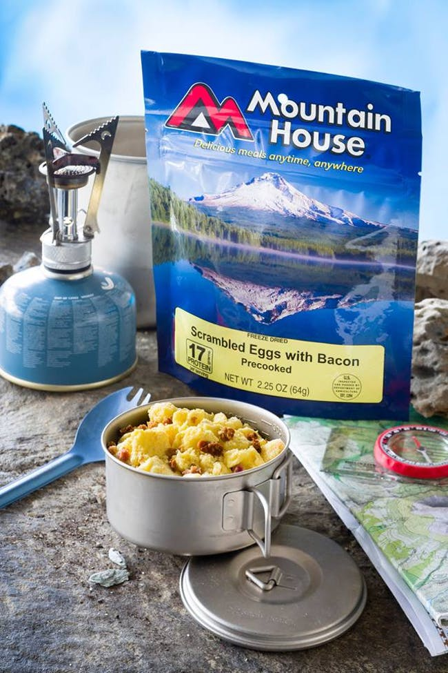 Mountain House freeze-dried foods. Photo: Mountain House via Facebook.