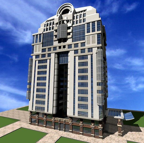 Mr hoorazar residential tower