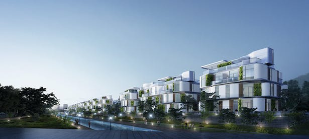 Novotown, Hengqin, Zhuhai, China, by Aedas
