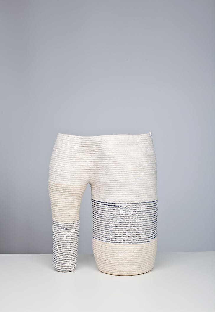 'Coyote' stitched cotton rope, 2011. Photo by Michael Popp
