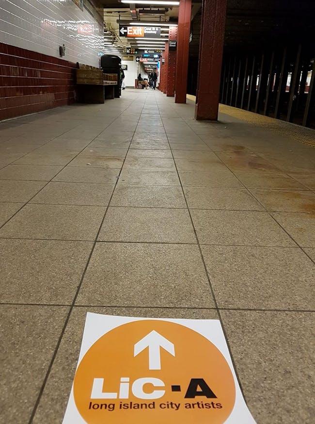 Walk with light - just follow the sign j.f. bautista