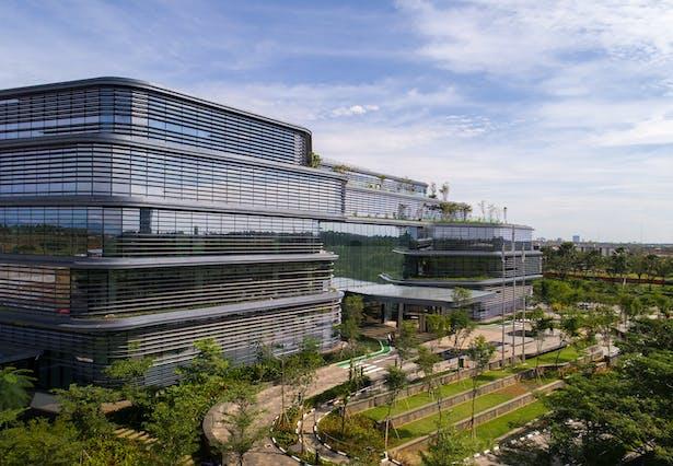 Unilever Headquarters, Jakarta, Indonesia