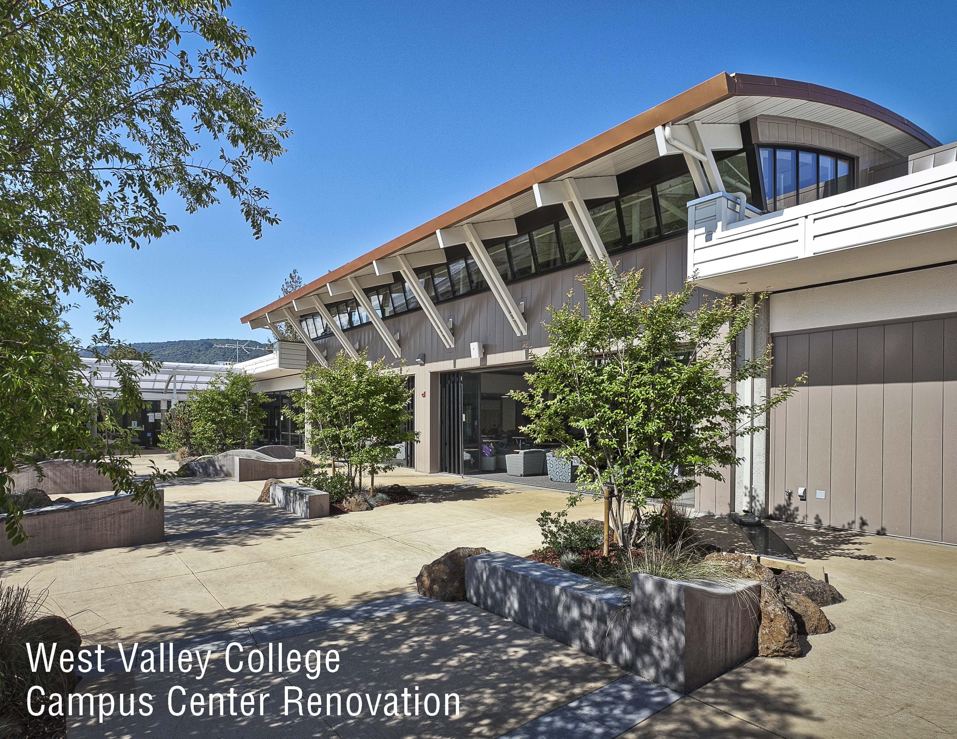 west valley college campus center modernization