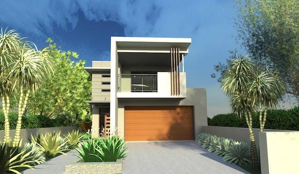 Narrow Lot House Designs Blueprint Designs Archinect