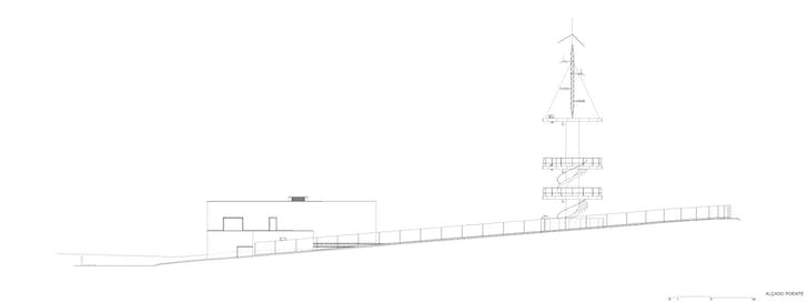 Elevation West (Image: Álvaro Siza Vieira)