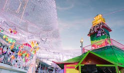 100+ artist-collective Meow Wolf brings their unique combination of architecture, art and technology to the Life is Beautiful festival in Vegas