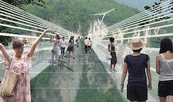 China announces world's longest and highest glass bridge