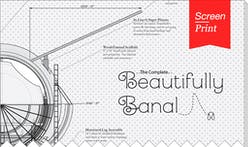 Screen/Print #43: 'Beautifully Banal' by Architecture Hero