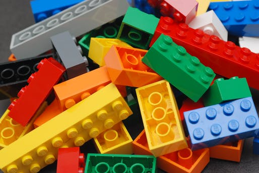 Lego is investing heavily in finding a replacement to oil-based plastics for their iconic children's toy. Credit: Wikipedia
