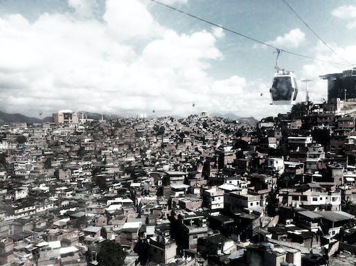 Morro do Alemão, Rio de Janeiro, 2012. Photograph by Pedro Rivera, RUA Arquitetos.