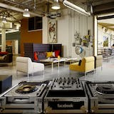 Facebook's office in Palo Alto by O+A, image via Office Snapshots.