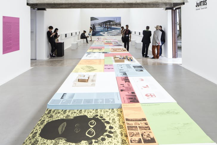 The Brazilian Pavilion at the 2016 Venice Biennale. Photo by Francesco Galli, courtesy of La Biennale di Venezia.