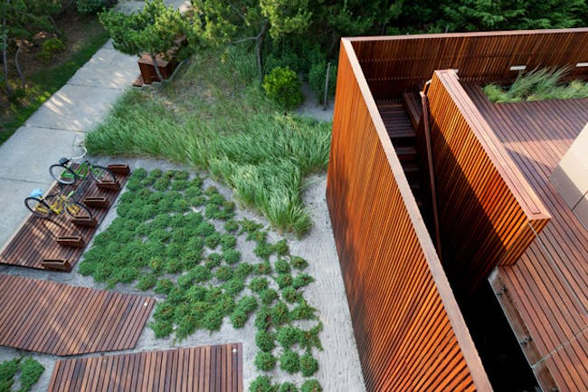 Beach Walk House in Fire Island, NY by SPG Architects