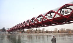 Calatrava's Peace Bridge to open tomorrow in Calgary