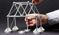 The toy-like Mola Structural Kit allows architects to experiment with structural engineering