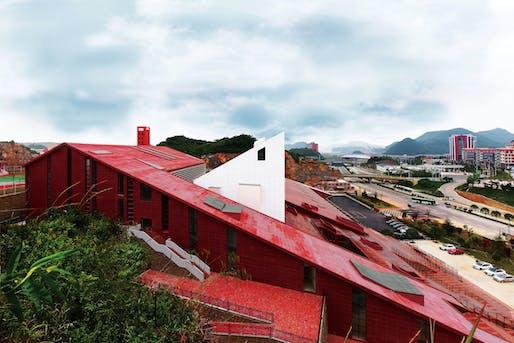 Guizhou Firestation by West-line Studio, Haobo Wei, Jinsong Xie. Image: German Design Awards.