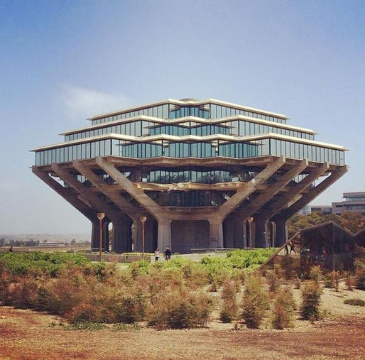 UC San Diego Giesel Library. Photo: Architectural Resources Group.