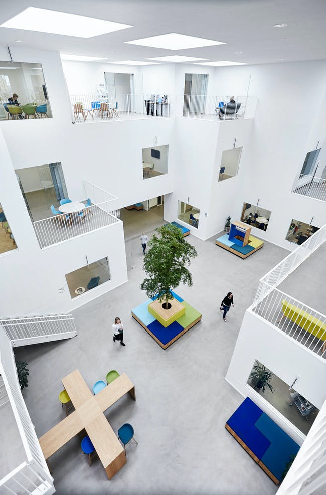 University College North in Aalborg, Denmark by ADEPT and Friis & Moltke