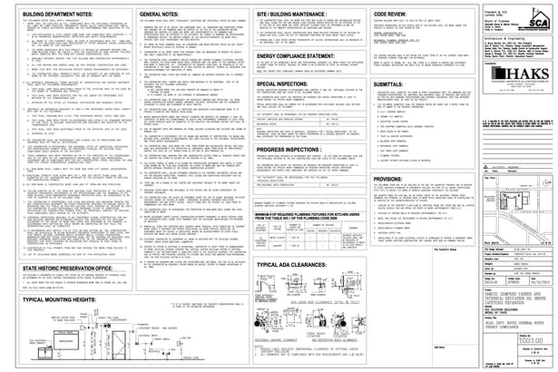 Building Department Notes