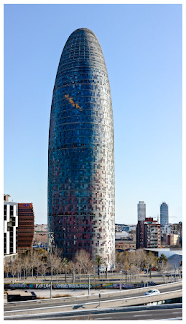 JeanNovel, AgbarTower in Barcelona