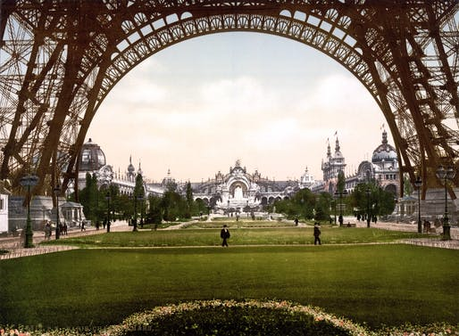 Champs de Mars, Exposition Universal, 1900, Paris, France