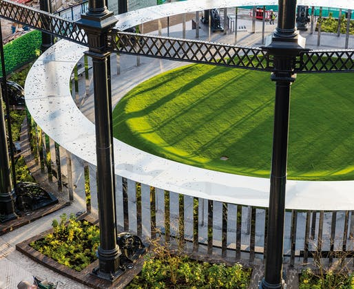 PUBLIC SPACES: Gasholder Park, N1 by Bell Phillips Architects. Photo: John Sturrock