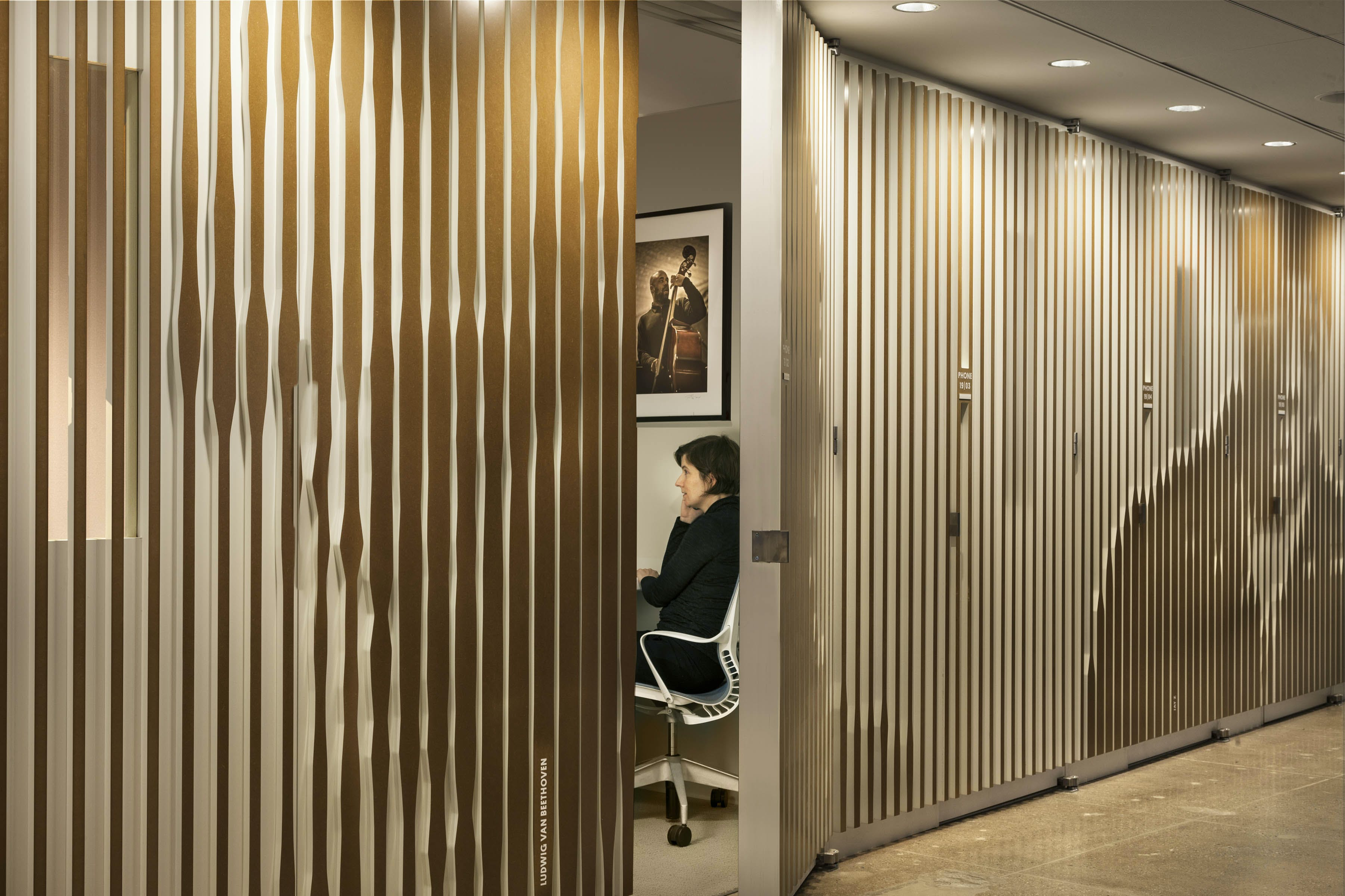 Pandora media offices abastudio andrew bartle for Rizzo revestimientos