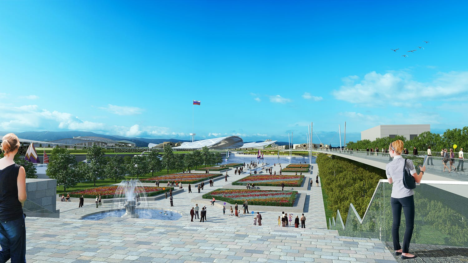 A better look into the winning Park Russia proposal