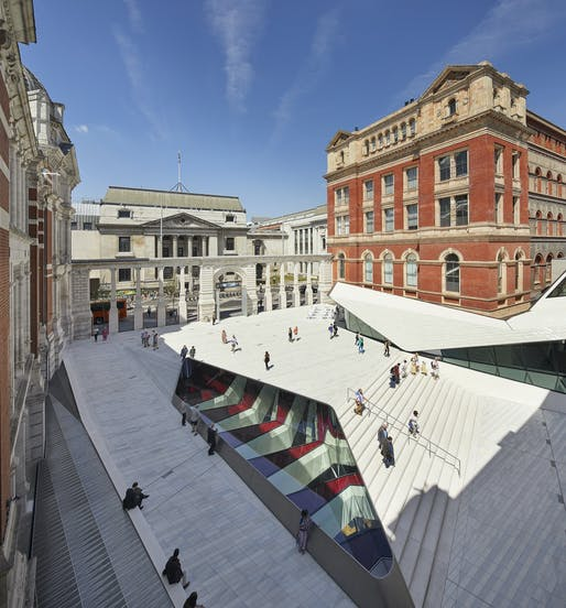 Victoria & Albert Museum, Exhibition Road Quarter; designed by AL–A. Photo Credit: Hufton+Crow.