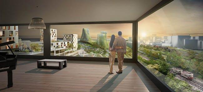 Panorama view (Image: De Architekten Cie.)