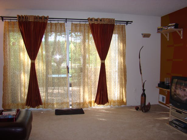 Curtains from India