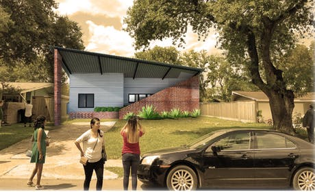 1st Prize winner of Sharpstown Prize for Architecture- a single family house design competition.