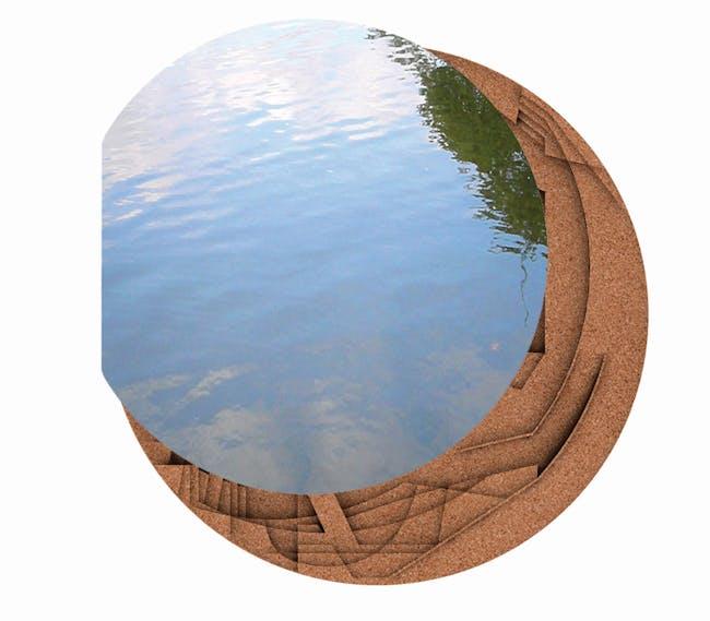 Concept Rendering: Serpentine Gallery Pavilion 2012, designed by Herzog & de Meuron & Ai Weiwei © 2012, by Herzog & de Meuron and Ai Weiwei